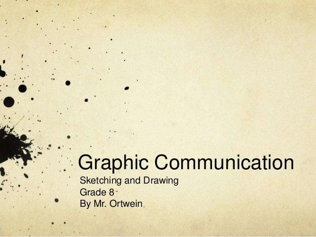 Grade 8 concept sketching