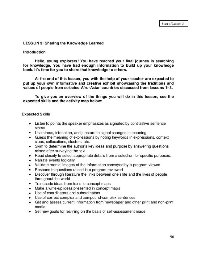 ENGLISH Grade 8 Q1 L3