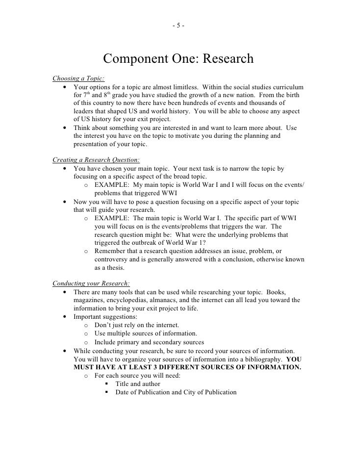 Women's studies research paper
