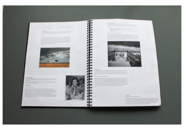 What pictures should i use in my photography coursework?