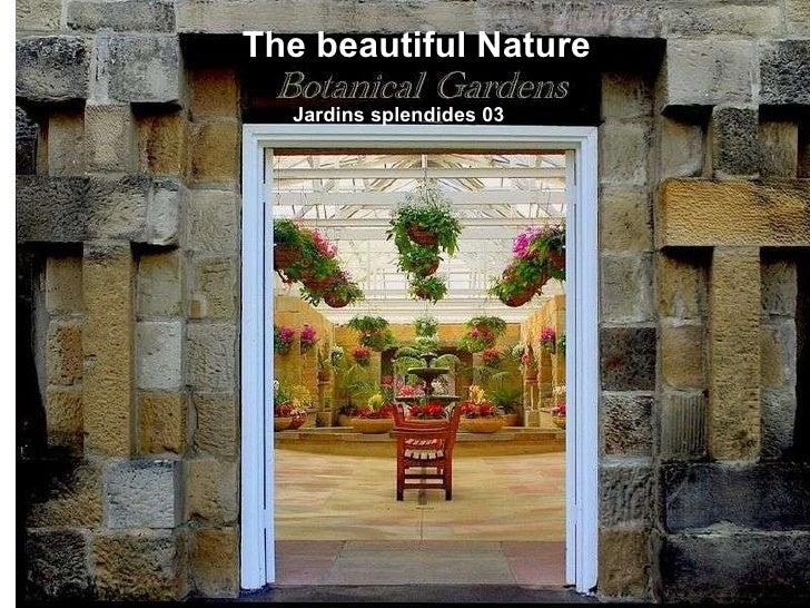 The beautiful Nature Jardins splendides 03