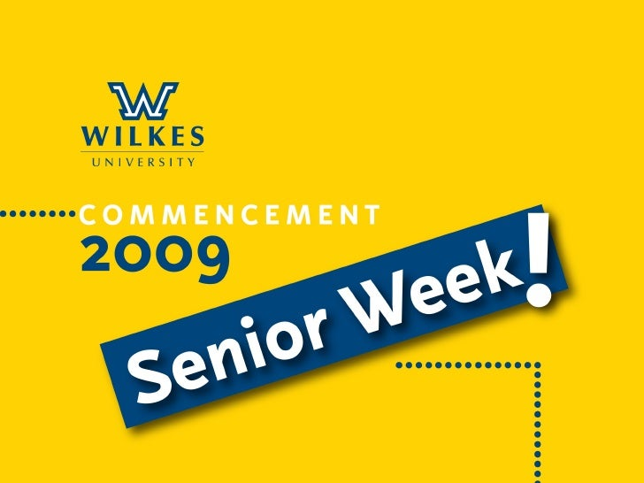 Wilkes University Class of 2009