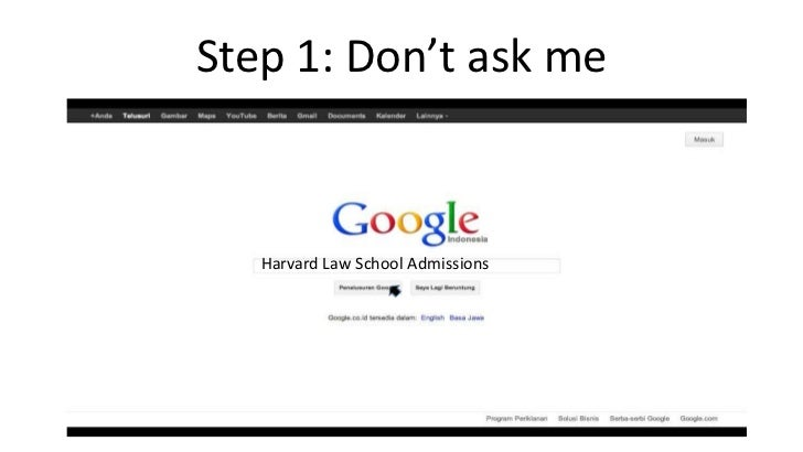 Can i get into Harvard law?