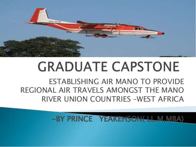 Graduate capstone  presentation