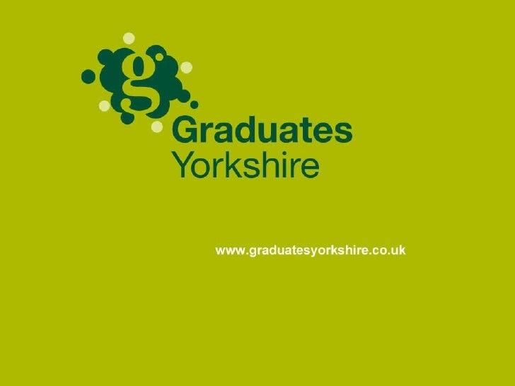 Graduates In Yorkshire