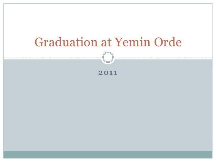 Graduation at Yemin Orde 2011