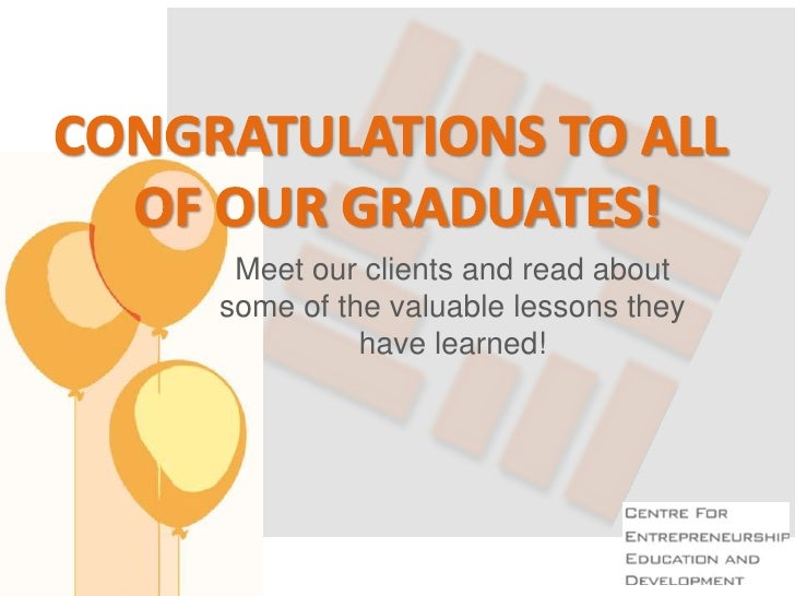 Meet our clients and read aboutsome of the valuable lessons they          have learned!