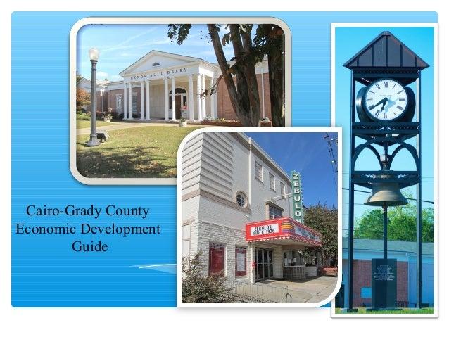 Cairo-Grady County Economic Development Guide
