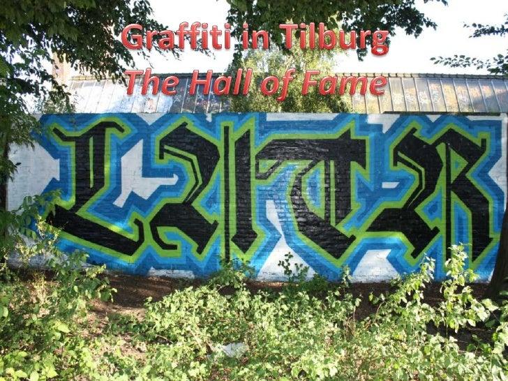 Graffitipresentatie