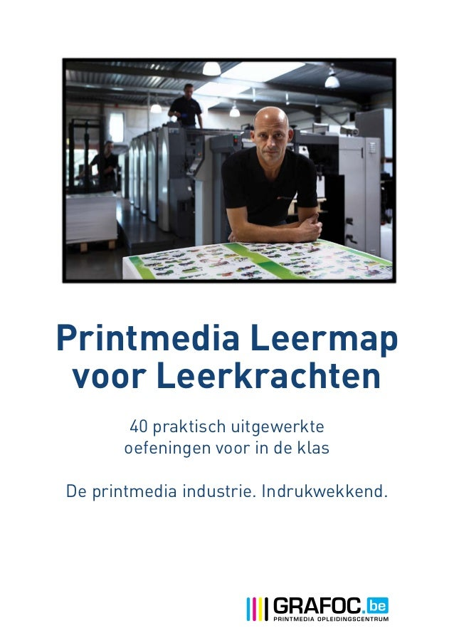GRAFOC Printmedia Leermap 2013 voor leerkrachten