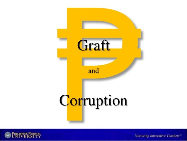 essays about graft and corruption