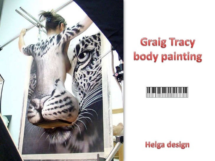 Graig Tracy body painting <br />Helga design<br />