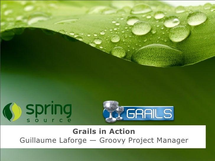 Grails in Action - Arskonference Hindsgavl - 2009