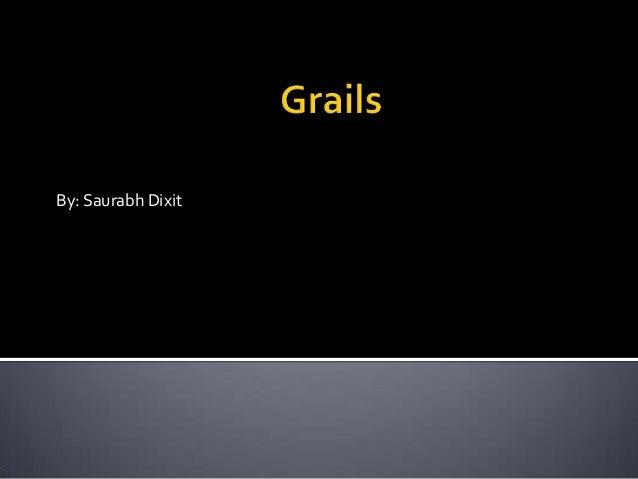 Grails basics
