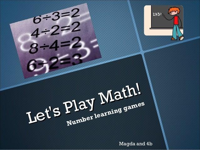 Gra matematyczna ang
