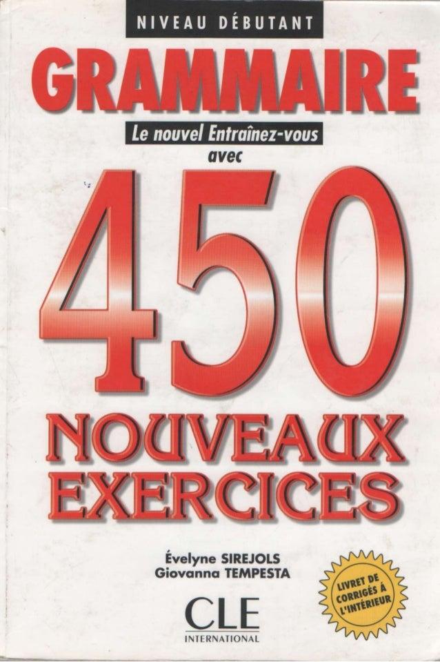 Grammaire 450 nouveaux_exercises