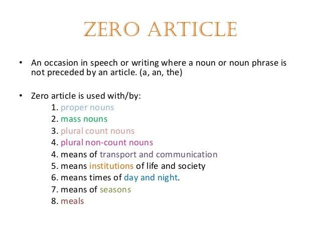 Zero Article Worksheet Zero Article English Grammar