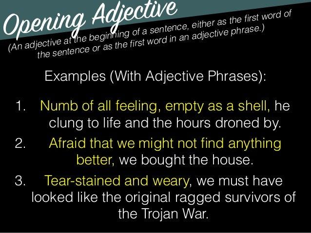 Teaching adverbs 6th grade