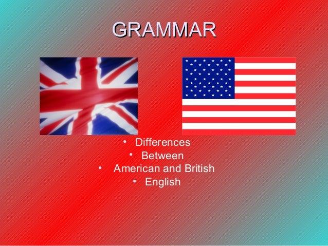 British and American English Grammar