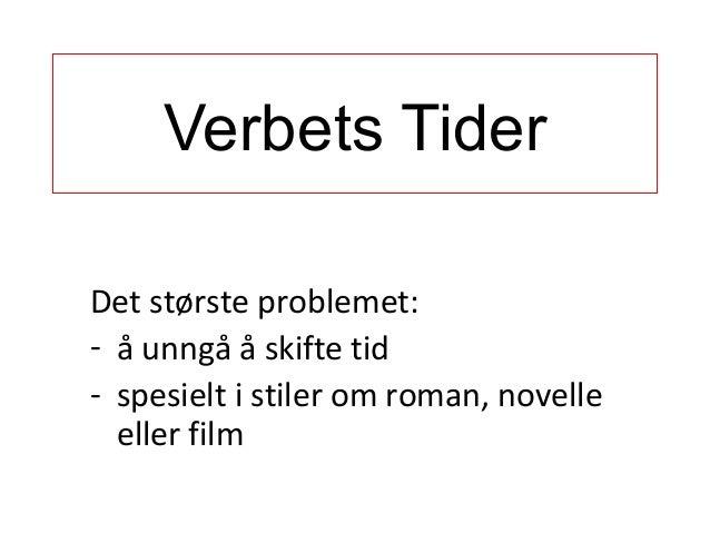 Grammar 3 verbets tider