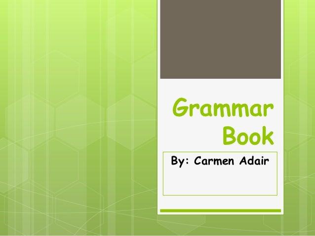 Spanish Grammar Book