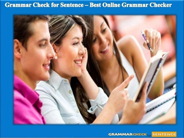 Fix this sentence online