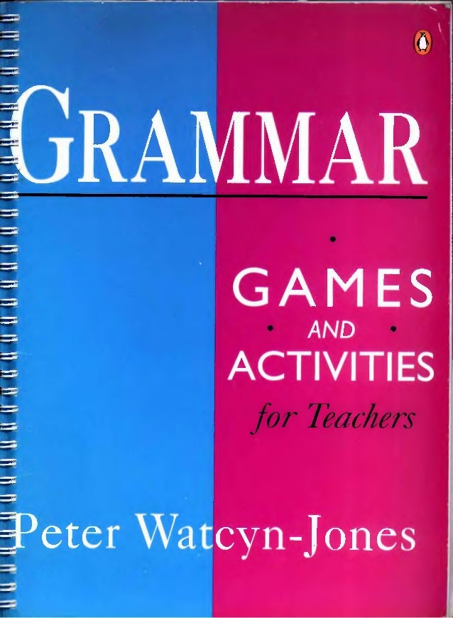 Grammar games and activities book 1 download
