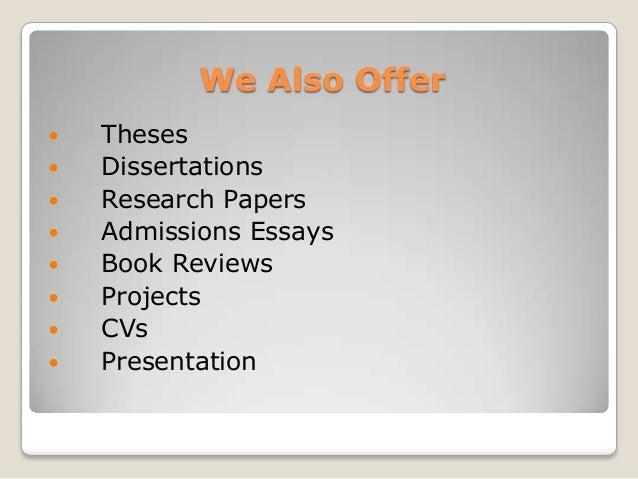 Dissertation Help London