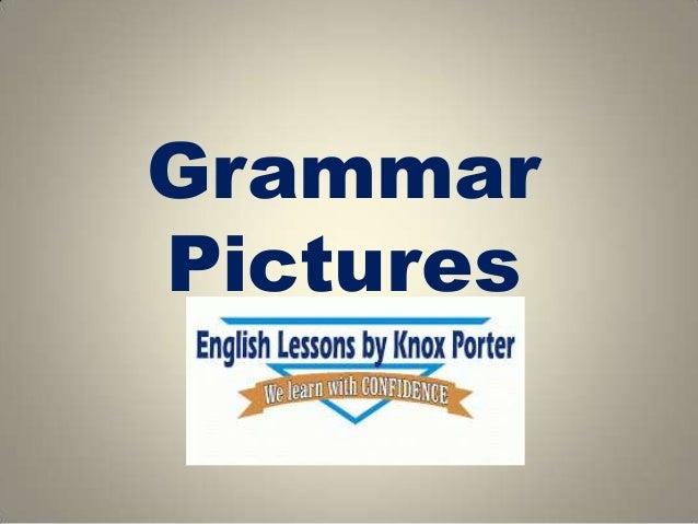 Grammar Pictures