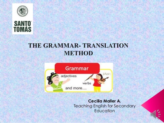 Cecilia Maller A. Teaching English for Secondary Education