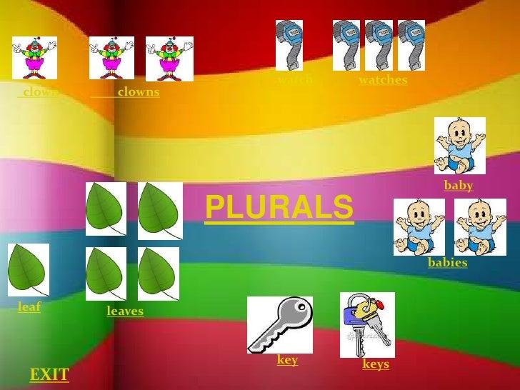 Grammar unit 1 plurals presentation