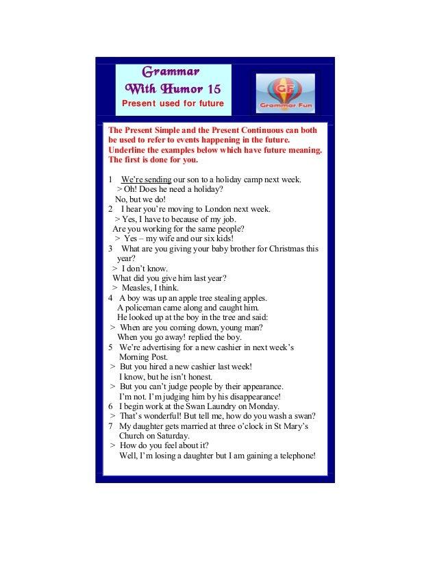 Grammar with Humor 15