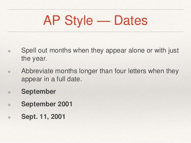 ap style quotations