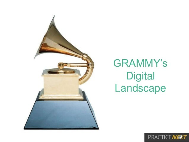 GRAMMY's Digital Landscape