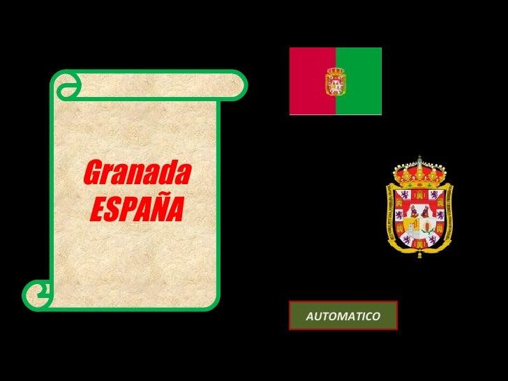 Granada ESPAÑA AUTOMATICO