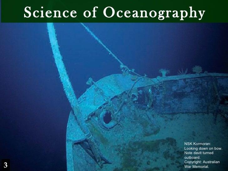 Finding HMAS Sydney Chapter 3 - Oceanography