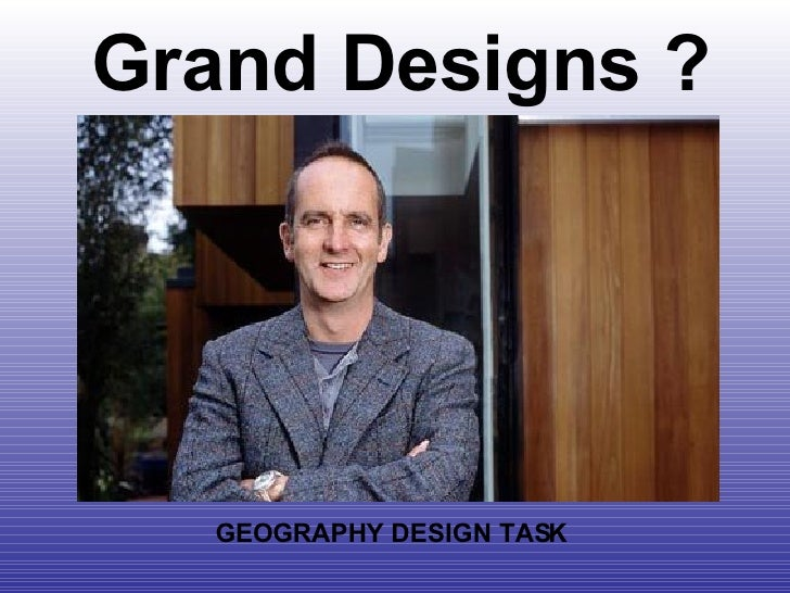 Grand Designs: Sustainable City Task