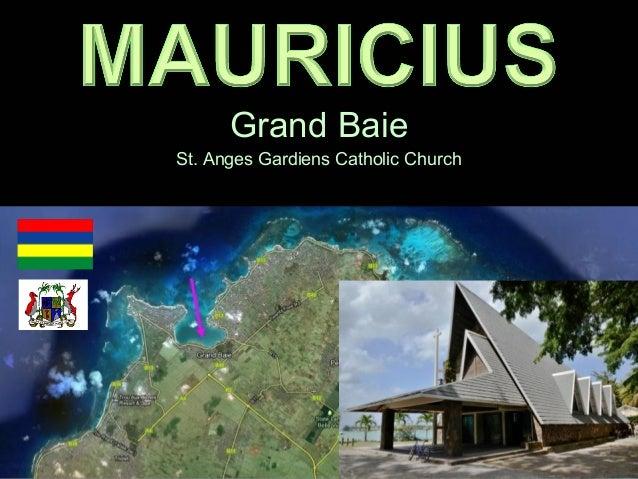 Grand baie - St.Anges Gardiens catholic church