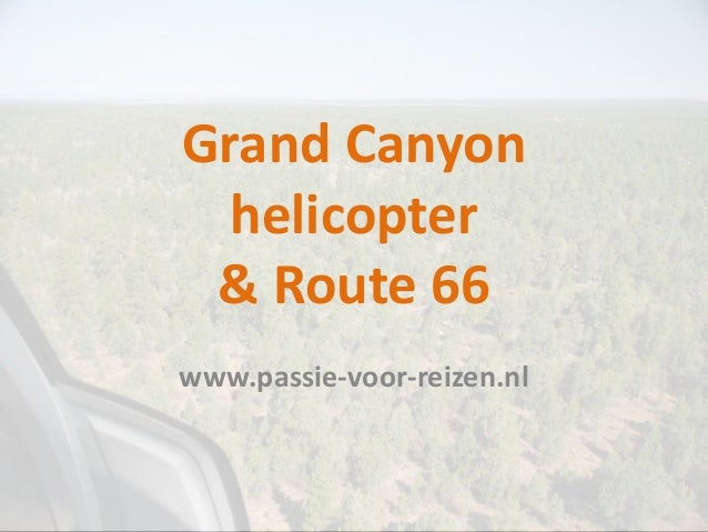 Grand Canyon Helicopter And Route 66 02 08