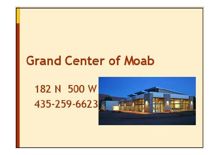 Grand+Center+Of+Moab