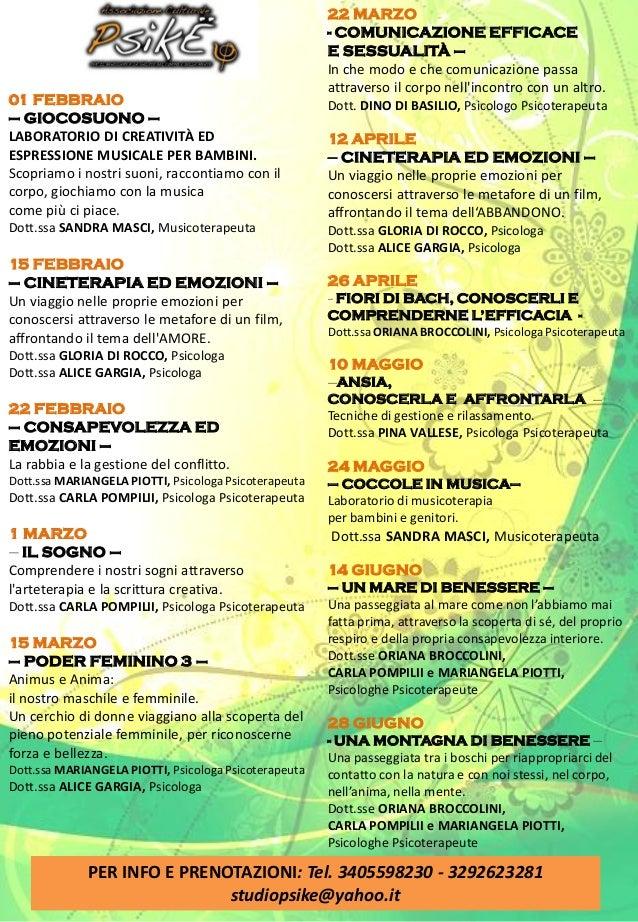 01 FEBBRAIO – GIOCOSUONO – LABORATORIO DI CREATIVITÀ ED ESPRESSIONE MUSICALE PER BAMBINI. Scopriamo i nostri suoni, raccon...