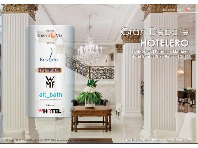 GRAN DEBATE HOTELERO 2013