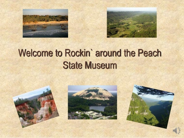 Welcome to Rockin` around the Peach State Museum