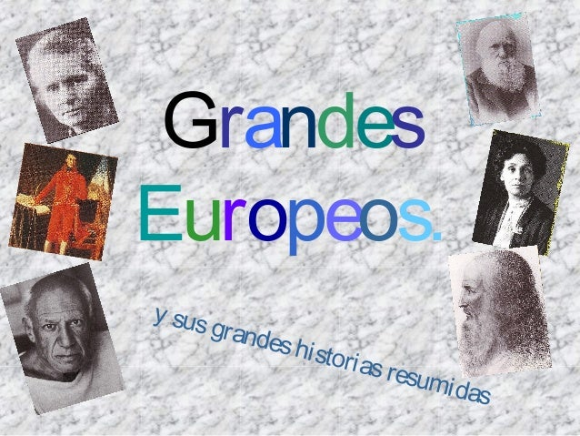 GrandesEuropeos.y sus        grand             es hi s                    t   ori as                               resum  ...