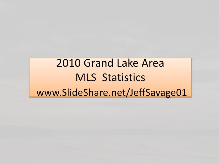 Grand Lake OK 2005 - 2010 Full Year Real Estate Market Analysis