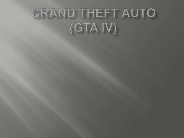 Grand theft auto (gta iv)