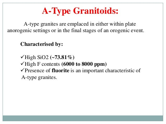 Quot Granites Quot Classification Petrogenesis And Tectonic