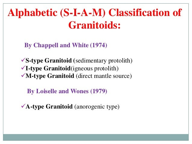 Quot Granites Quot Classification Petrogenesis And Tectonic