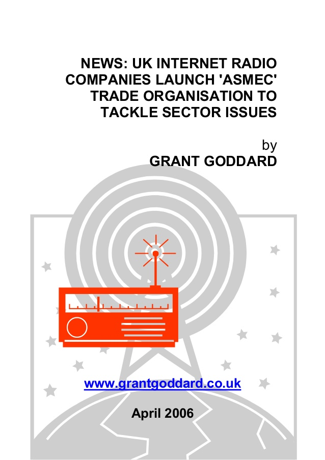 "News: UK Internet Radio Companies Launch ""ASMEC"" Trade ..."