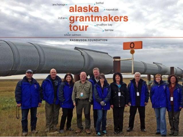 Grantmakers Tour of Alaska 2013
